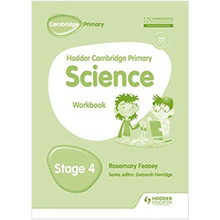 Hodder Cambridge Primary Science Workbook 4 - ISBN 9781471884214