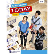 Social Sciences Today Grade 9 Learner's Book - ISBN 9780636115484