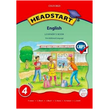 Oxford Headstart ENGLISH First Additional Language Grade 4 Learners Book - ISBN 9780199058129