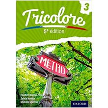 Oxford Tricolore 3 Student Book (5th Edition) - ISBN 9781408524244
