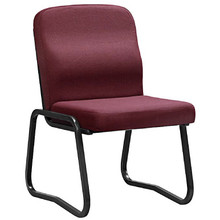 The ECONOMY Full-Back Side Chair with Skid Base.
