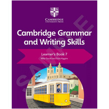 Cambridge English Grammar and Writing Skills Learner's Book 7 - ISBN 9781108719292