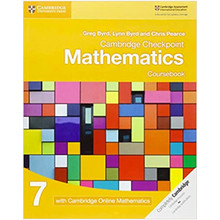 Cambridge Checkpoint Mathematics Coursebook 7 with Cambridge Online Mathematics (1 Year) - ISBN 9781108615891