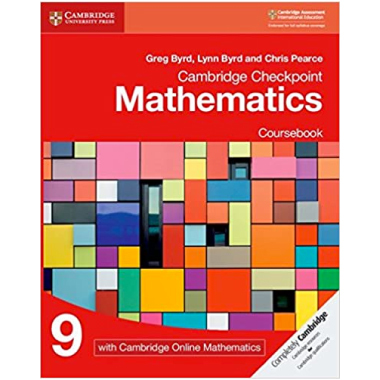 Cambridge Checkpoint Mathematics Coursebook 9 with Cambridge Online Mathematics (1 Year) - ISBN 9781108671248