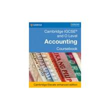 Cambridge IGCSE® and O Level Accounting Coursebook Cambridge Elevate Enhanced Edition (2 Year) - ISBN 9781108439015