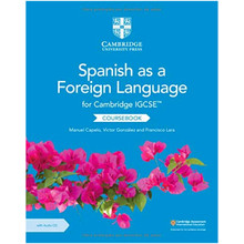 Cambridge IGCSE® Spanish as a Foreign Language Coursebook with Audio CD - ISBN 9781108609630