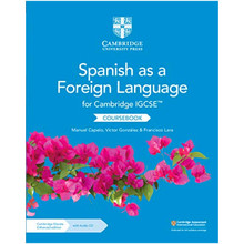 Cambridge IGCSE® Spanish as a Foreign Language Coursebook with Audio CDs and Elevate enhanced edition (2 Year) - ISBN 9781108609814