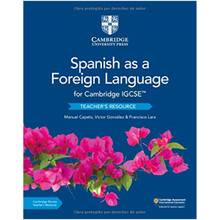 Cambridge IGCSE® Spanish as a Foreign Language Teacher's Resource with Cambridge Elevate - ISBN 9781108609845