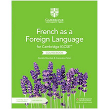 Cambridge IGCSE® French as a Foreign Language Coursebook with Audio CDs (2) and Cambridge Elevate Enhanced Edition (2 Years) - ISBN 9781108590709