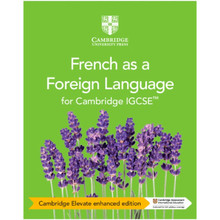 Cambridge IGCSE® French as a Foreign Language Coursebook Cambridge Elevate Enhanced Edition (2 Years) - ISBN 9781108710039