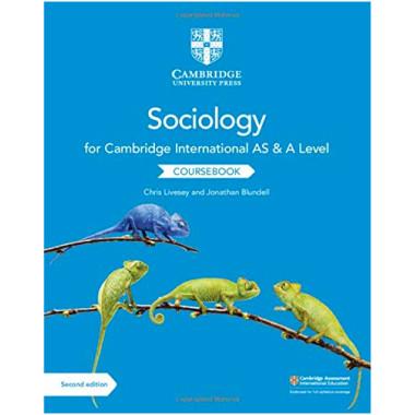 Cambridge International AS and A Level Sociology Coursebook Second Edition - ISBN 9781108739818