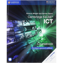 SALE ITEM - Cambridge IGCSE ICT Coursebook with CD-ROM Revised Edition  - ISBN 9781108698061