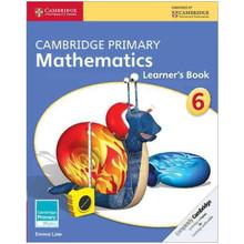 Cambridge Primary Mathematics Learners Book 6 - ISBN 9781107618596
