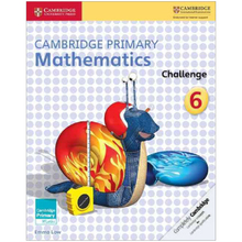 Cambridge Primary Mathematics Challenge 6 - ISBN 9781316509258