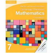 Cambridge Checkpoint Mathematics Coursebook 7 - ISBN 9781107641112