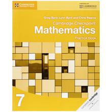 Cambridge Checkpoint Mathematics Practice Book 7 - ISBN 9781107695405
