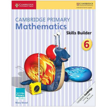 Cambridge Primary Mathematics Skills Builders 6 - ISBN 9781316509180