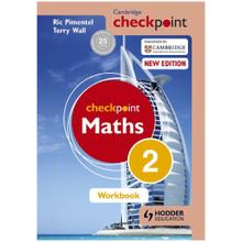 Cambridge Checkpoint Mathematics Workbook 2 - ISBN 9781444144031