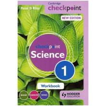 Cambridge Checkpoint Science Workbook 1 - ISBN 9781444183467