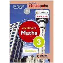 Cambridge Checkpoint Mathematics Workbook 3 - ISBN 9781444144055