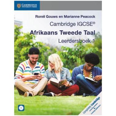 Cambridge IGCSE Afrikaans Tweede Taal Leerdersboek 1 - ISBN 9781316613580