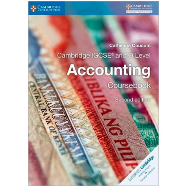 Cambridge IGCSE and O Level Accounting Coursebook - ISBN 9781316502778