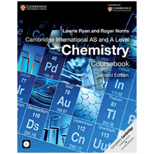 Cambridge International AS and A Level Chemistry Coursebook with CD-ROM (2nd Edition) - ISBN 9781107638457