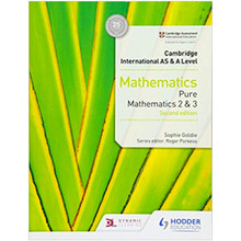 Cambridge International AS & A Level Mathematics Pure Mathematics 2 & 3 - ISBN 978151042173