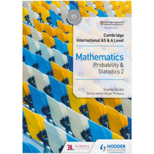 Hodder Cambridge International AS & A Level Mathematics Probability & Statistics 2 - ISBN 9781510421776