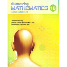 Singapore Maths Secondary - Discovering Mathematics Textbook 1B - ISBN 9789814250733