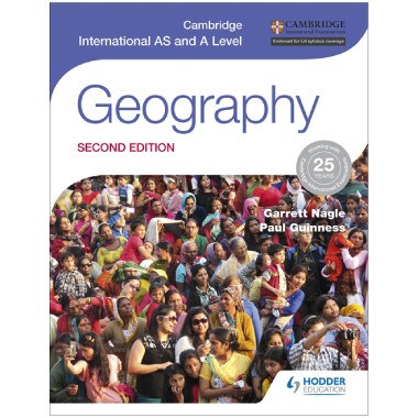 Cambridge International AS and A Level Geography (2nd Edition) - ISBN 9781471868566