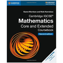 Cambridge IGCSE Mathematics Coursebook Core and Extended - ISBN 9781108437189