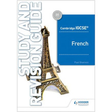 Hodder Cambridge IGCSE™ French Study and Revision Guide - ISBN 9781510448032
