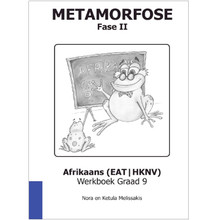 Metamorfose Fase 2 Grade 9 First Additional Language (FAL) Workbook - ISBN 9780987006448