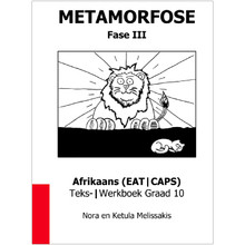 Metamorfose Fase 3 Grade 10 First Additional Language (FAL) Workbook - ISBN 9780987006462
