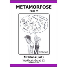 Metamorfose Fase 5 Grade 12 First Additional Language (FAL) Workbook - ISBN 9780987006409