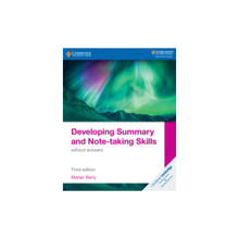 Cambridge Developing Summary and Note-taking Skills without Answers - ISBN 9781108811323