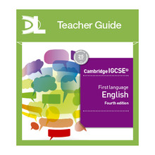Hodder Cambridge IGCSE First Language English Online Teacher's Guide - ISBN 9781510424159