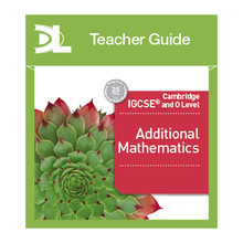 Hodder Cambridge IGCSE and O Level Additional Mathematics Online Teacher's Guide - ISBN 9781510424180