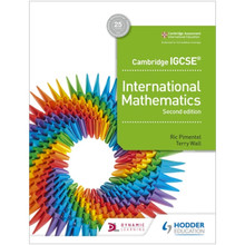 Hodder Cambridge IGCSE International Mathematics Student Book (2nd Edition) - ISBN 9781510421400
