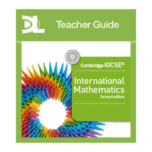 Hodder Cambridge IGCSE International Mathematics Online Teacher's Guide (2nd Edition) - ISBN 9781510424173