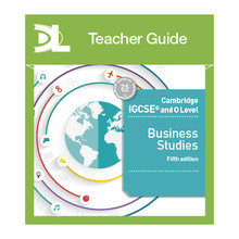 Hodder Cambridge IGCSE and O Level Business Studies Online Teacher Guide (5th Edition) - ISBN 9781510424128