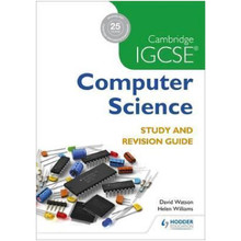 Hodder Cambridge IGCSE Computer Science Study and Revision Guide - ISBN 9781471868689