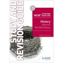 Hodder Cambridge IGCSE and O Level History Study and Revision Guide - ISBN 9781510421196