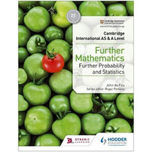 Hodder Cambridge International AS & A Level Further Mathematics Further Probability and Statistics - ISBN 9781510421813