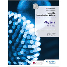 Hodder Cambridge International AS & A Level Physics Student's Book 3rd Edition (2022 Examination) - ISBN 9781510482807