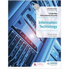 Hodder Cambridge International AS Level Information Technology Student's Book 1 - ISBN 9781510483057
