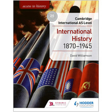 Hodder Access to History for Cambridge International AS Level: International History 1870-1945 - ISBN 9781510448674