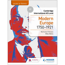 Hodder Access to History for Cambridge International AS Level: Modern Europe 1750-1921 - ISBN 9781510448698