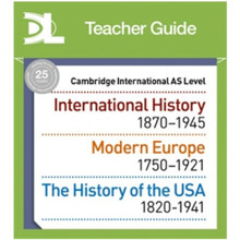 Hodder Cambridge International AS Level History Online Teacher Guide - ISBN 9781510451964